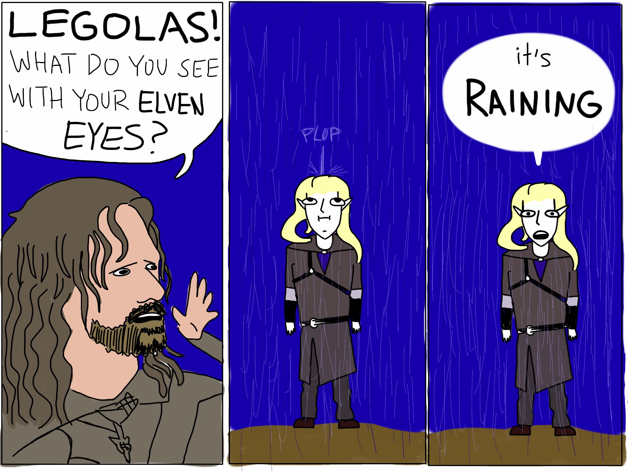 Legolas' Elven Eyes